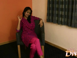 Gal  023. Divya in purple indian outfits feeling lonely